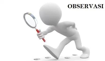 Pengertian Observasi Lengkap (Ciri-ciri, Jenis, Manfaat dan Tujuan Observasi)