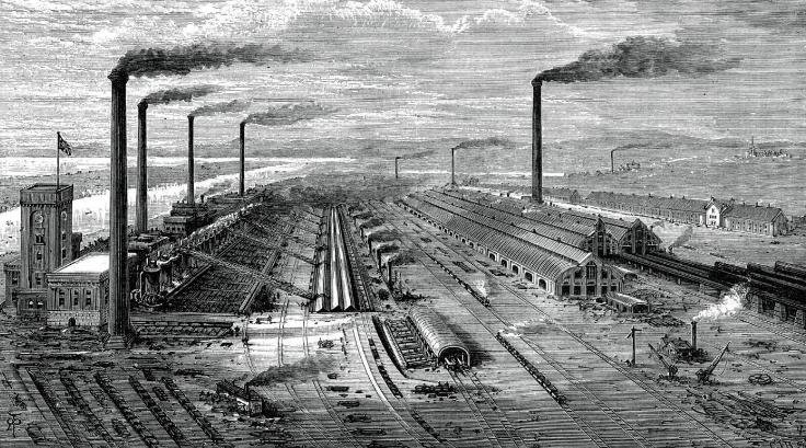 Pengertian Revolusi Industri, Faktor-faktor dan Dampaknya !