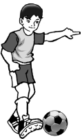 Teknik menendang bola menggunakan kaki bagian dalam