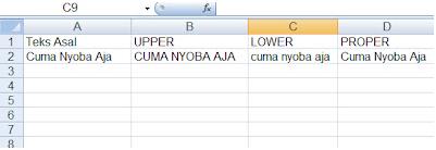 Pengertian Uppercase, Lowercase, dan Propercase !